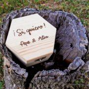 Caja porta anillos 6
